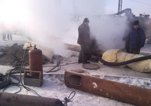 Режим чрезвычайной ситуации ввели в Забайкальске из-за коммунальной аварии
